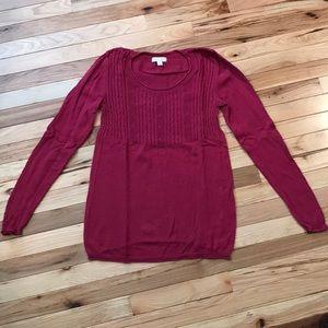 EUC Liz Lange Maternity Sweater